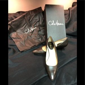 EUC Cole Haan Pumps, Dark Chocolate, Size 9